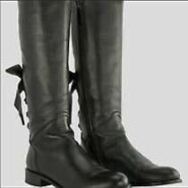 Valentino Bow Tie Boots Size 38 Photo