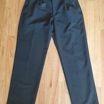 Valentino by Valentino Christy Black Casual Dress Pants Size 34 for Men Photo