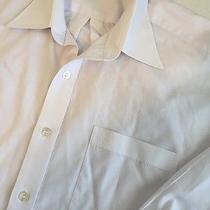 Valentino Christy 100 Paris Mens Button Down Dress Formal Shirt Top Couture  Photo