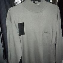 Valentino Christy Paris Mode Mens Wool Turtleneck Sweater Size Xl  Photo