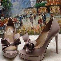 Valentino Couture Bow Platform Pump - Size 35 - 945 Photo