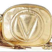Valentino Crossbody Bag by Mario Valentino Nina Gold Chain  Photo