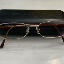 Valentino Eyeglasses Gold Wire Rim 0zr6 & Valentino Hard Protective Case Photo