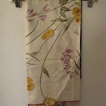 Valentino Garacani Italian Floral Scarf 100% Silk 34x34
