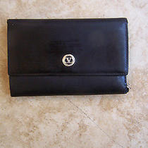 Valentino Garavani Geniune Leather Made in Italty Tri Fold Wallet Vintage Photo