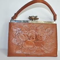 Valentino Garavani Leather Petale Flower Rose Crystal Bag Belt Necklace Set Photo