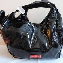 Valentino Garavani  Patent Leather Nuage Bow Hobo Handbag With Mrsp 1195 Photo