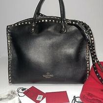Valentino Garavani Rockstud Handbag Leather Tote (Inc Og. Receipt  Dust Bag) Photo