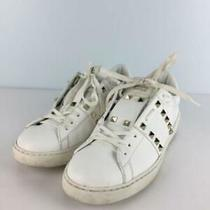 Valentino Garavani Unlocked Title De 40 Wht Size 40 White Sneaker From Japan Photo