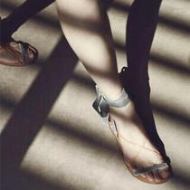 Valentino Garavini Velvet Lace Sandal Size 40 Photo