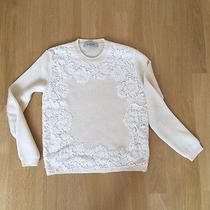 Valentino Lace Sweater Small New Photo