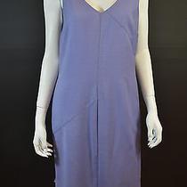 Valentino Lavender v-Neck Sleeveless Shift Dress Photo