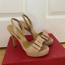 Valentino Nude Patent Leather Pumps Sz 5.5/35.5 Photo