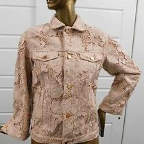 Valentino Red Italy Nude Full Lace Jacket Blazer Sz 38 Photo