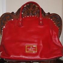 Valentino Red Rockstud Bag Photo