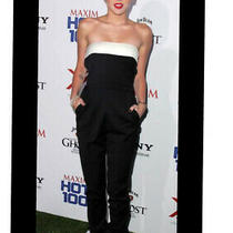 Valentino Red Strapless Bow Back Jumpsuit Holiday New Photo