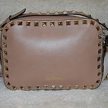 Valentino Rockstud Camera Crossbody Bag 1395tax Photo