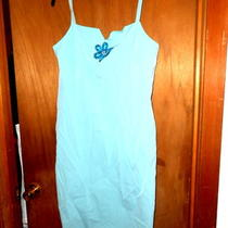Valerie Stevens Aqua Cocktail Dress Large - Gorgeous Nwt Was 80 Photo