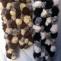 Valerie Stevens Classy Real Rabbit Fur Scarves  Photo