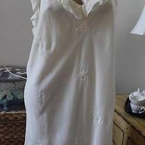 Valerie Stevens  Double-Layer Embroidered Chemise Nightgown  Sz Xl (V) Photo