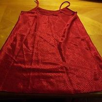 Valerie Stevens Size Small Red Nightie Photo
