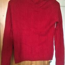 Valerie Stevens Women's Cashmere Pullover Sweater Dark Magenta S Photo