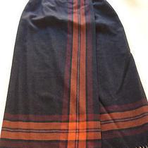 Valerie Stevens Women's  Pure Wool Wrap Skirt Size 6 Grey Photo