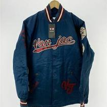 Van Tagged/20fw/baseball Coach Jacket/jc-10529/m/cotton/blue Photo