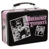 Vandor Audrey Hepburn Breakfast at Tiffanys Large Tin Tote  7 by 9 by 3-1/2-Inch Photo