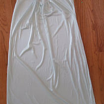 Vanity Fair Aqua Elegant Vintage Nightgown Gown Size M Photo