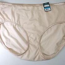 Vanity Fair Body Shine Beige Hipster Panty Size 9 2x Photo