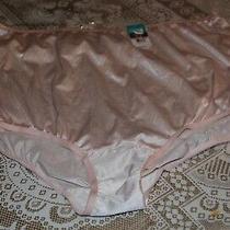 Vanity Fair Women's 15712 Ravissant Nylon Brief Panty Blushing Pink 10/3xl Photo