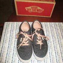 Vans Mens/womens Sz 4.5 (U.s Sz 6) Atwood Black/blush Lace Up Fashion Sneakers Photo