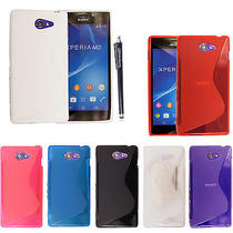 Various S Line Wave Gel Back Skin Fits Case Cover for Sony Xperia Phones Stylus Photo