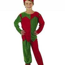 Velour Elf Child's Costume Set by Fun Express Photo