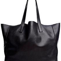 Velvet by Graham and Spencer Clover Leather Tote - Black Photo