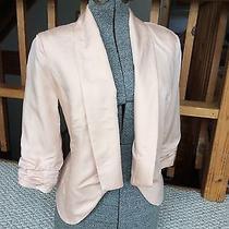 Velvet Heart Pink Blush Jacket Tencel Material Lined Velvet Heart Jacket Small Photo