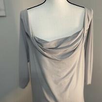 Venezia Lane Bryant Top Womens Plus Size 14/16 Grey Blouse New With Tags Photo