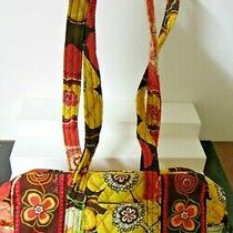 Vera Bradley 100 Handbag Buttercup Purse Nwt 11811-068 Orange Brown Yellow Photo