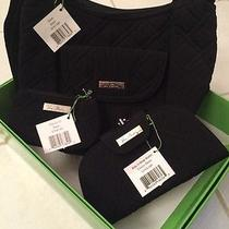 Vera Bradley 3 Pc Set Black Nwt With Gift Box Photo