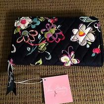 Vera Bradley Accordian Wallet Ribbons Nwt Photo