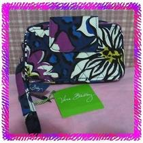 Vera Bradley African Violet Smartphone Iphone Case Wristlet Wallet Nwtag A Photo