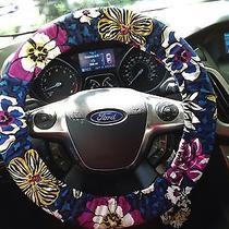 Vera Bradley - African Violet - Steering Wheel Cover  Photo