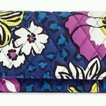 Vera Bradley African Violet Trifold Wallet Photo