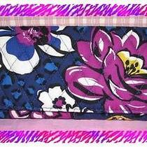 Vera Bradley African Violet Trifold Wallet Nwtag Photo
