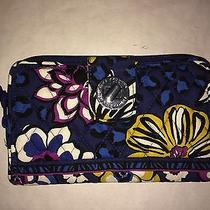 Vera Bradley African Violet Turn Lock Wallet Photo