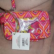 Vera Bradley All in One Where's Mickey Pink Wristlet Retails for 60.00 Photo