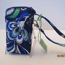 Vera Bradley  All in One Wristlet  Mediterranean Blue  Nwt  Mothers Day  Photo
