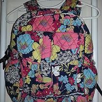 Vera Bradley Backpack Book Bag in Happy Snails Photo