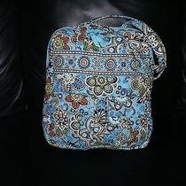 Vera Bradley Bali Blue Computer Shoulder Bag Photo